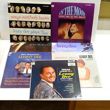 Vintage Lenny Dee 7 Album Selection of MCA Records + Near Mint Stereo LPs