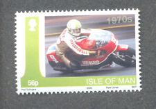 Motorcycles-Alex George 1970,s mnh single Motorbike riders(2009 Honda)