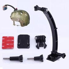 Helmet Extension Selfie Arm Mount Holder Fixation Kit Fr Gopro Hero 4 3 + Action