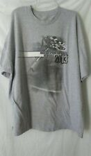 NASCAR 2013 Sprint Cup Series Schedule Gray S/S T-Shirt Men's - NO SIZE TAG-
