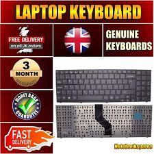 New P6612 MEDION AKOYA Laptop Keyboard UK Layout Matte Black