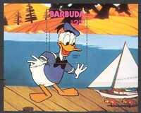 Barbuda 1981 Disney/Donald Duck/Boat 1v m/s (n24574)