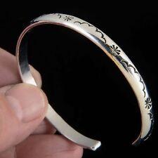 Therapeutic Native American Indian Jewelry SILVER/ COPPER Cuff BRACELET