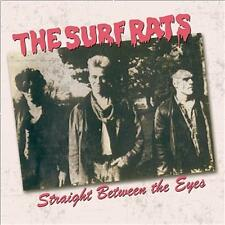 SURF RATS Straight Between The Eyes CD - 1980s Psychobilly - NEW - rockabilly