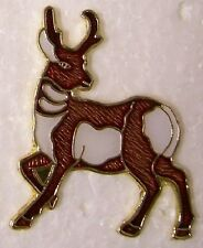 Hat Lapel Pin Scarf Clasp Animal Reindeer #1 NEW
