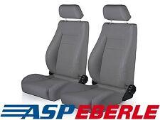 Sportsitz vorne Grau links + rechts Sitz Seat Grey Jeep Wrangler YJ 87-95