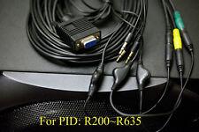 Logitech Z-5500 (pre 636 PIDs) 3 jack Control Pod Bypass Cable  w/ vol ctrl