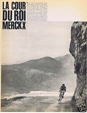 Coupure de presse Clipping 1969 Eddy Merckx  (4 pages)
