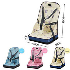 Portable Foldable Travel Seat Booster Safety Dining High Chair Baby Toddler L