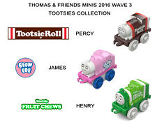 Thomas & Friends Minis 2016 WAVE 3 Tootsie collection set Fruit Chews Henry RARE