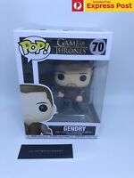 GAMES OF THRONES GoT GENDRY FUNKO POP! VINYL FIGURE #70 - NEW - GOOD BOX