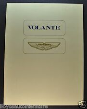 1979 Aston Martin Volante Sales Brochure Folder US Market Excellent Original 79