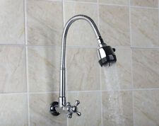 EUB Cold Only Kitchen Sink Faucet Swivel Spout Taps Single Handle/Hole Chrome