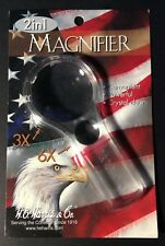 H E Harris 2 in 1 Magnifier STATE SERIES QUARTERS