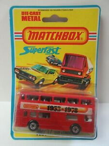 Matchbox Superfast No.17 Londoner Bus 'Matchbox 1953-1978' - Mint/Boxed