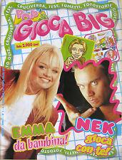 POP'S GIOCA BIG 1 1999 Emma Bunton Spice Girls Nek Backstreet Boys Geri Halliwel