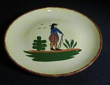 """Southern Potteries Blue Ridge: Provincal """"Normandy"""" Luncheon Plate (11533)"""