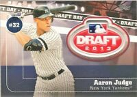 2020 TOPPS SERIES 2 DRAFT DAY MEDALLION PATCH AARON JUDGE NEW YORK YANKEES