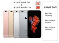 Apple iPhone 6 Plus / 6S Plus +| Grey/Gold/Silver | 16/32/64/128 GB Unlocked GSM