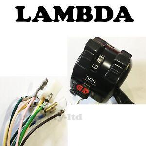 LEFT HAND Switch Block Lights Horn Indicators Yamaha  DT 250- IT, TT-XT 600, WR
