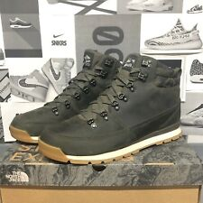 The North Face Back To Berkeley Redux Hiking Men's Boot Size 12 Olive Green/Camo
