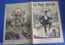 Le petit journal 1893 143 Clémenceau le commandité + le suffrage universel