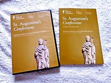 LOT 4 DVD'S + BOOK ST AUGUSTINE'S CONFESSIONSTHE GREAT COURSES TEACHING COMPANY