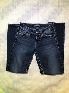Silver Suki Surplus Jeans  boot cut 27 x 30