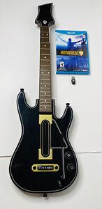 Guitar Hero Live Nintendo Wii U Console BUNDLE Guitar Game & Dongle TESTED