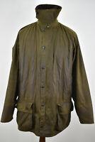 BARBOUR A830 Classic Beaufort Olive Wax Field Jacket size C42/107Cm