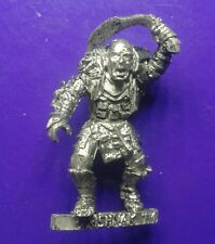 Grishnak Mordor orc hero metal citadel GW games workshop lotr the hobbit evil