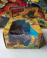 Vintage Battle Bots Transporter RC Robot KO Transformers MiSB Marchon 1985 RARE!