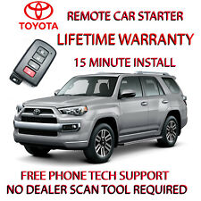 2010-2018 TOYOTA 4RUNNER REMOTE START- NO WIRE SPLICING SMART KEY ONLY