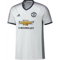 Adidas Maillot Manchester United Football Exterieur Adulte Blanc 2017