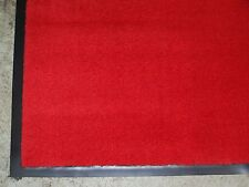 "Entrance mat heavy duty commercial door entry business office floor 36""×60"" red"