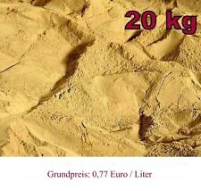 20kg Lehmpulver  für Sandmischung Bodengrund