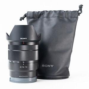Sony E 16-70mm F4 Zeiss Vario-Tessar OSS Lens - Very Good