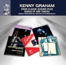 Kenny Graham FOUR (4) CLASSIC ALBUMS +BONUS Moondog & Suncat Suite NEW 4 CD