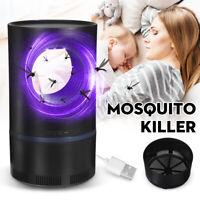 USB LED Tueur Moustique mouche Insecte piège ravageur Lampe lumière Électrique