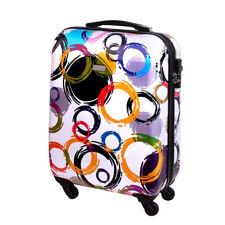 Equipaje de mano rígida con ruedas equipaje de mano 30 litros multicolor blanco