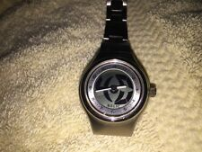 Fossil Big Tic Woman's Matte Silver Case Band Water Resistant Quartz Watch