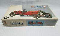 Vintage IMAI Paramount 1/16 ITALA Motorized Model Kit Partially Built For Parts