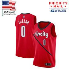 2019 Portland Trail Blazers Damian Lillard Earned Edition Swingman Jersey NBA