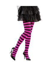 BONNIE DOON~ Damen ~  Colourful Stripe Tights ~ S bis XL ~ light navy//purple ash