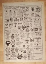 vintage t shirts designs  1977 press advert Full page 28 x 38 cm poster