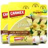 3x Carmex Classic Vanilla Click Stick Ultra Moisturising Dry & Chapped Lip Balm