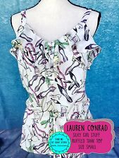 LC LAUREN CONRAD Size Small S Silky Tak Top Girlie Stuff Lipstick Shoes Perfume