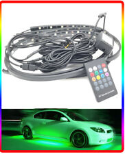 Multicolour Ground Undercar LED Neon Kit Glow strobe remote universal 12v