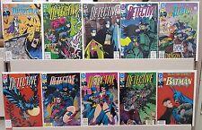 Detective Comics #617 646 647 649 650 651 652 653 654 655 - ALL NM - CGC READY