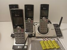 AT&T 4 Handset Answering System, Smart Call Blocker, Caller ID (CL82407)